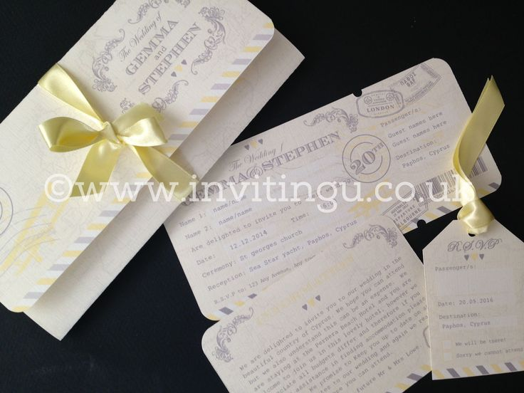 Destination Wedding Invites Http Www Invitingu Co Uk