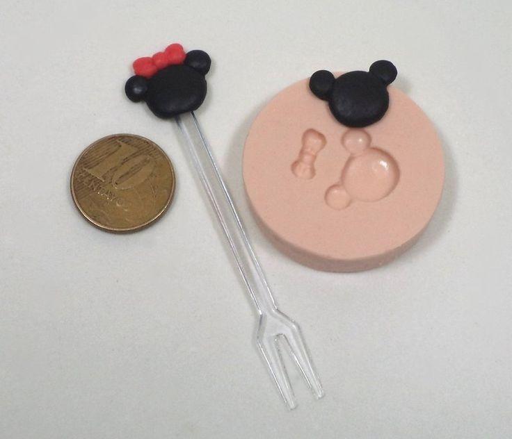 983 - Mickey e Minie mini - Sueli Ribas