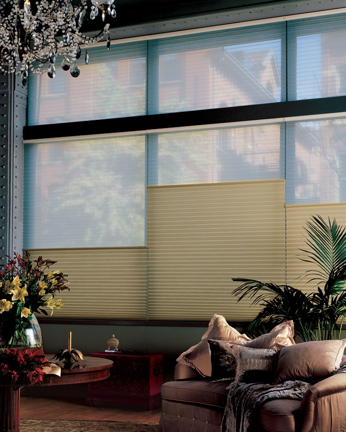 Luxaflex Duette Shades provide the ultimate in versatile light control, privacy and style to any room.