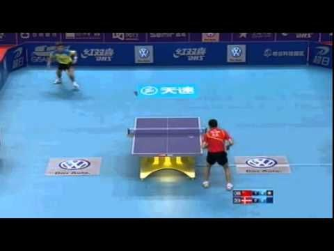 Michael Maze And Xu Xin Amazing Point China vs Denmark