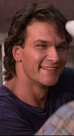 Patrick Swayze . He had such a beautiful smile