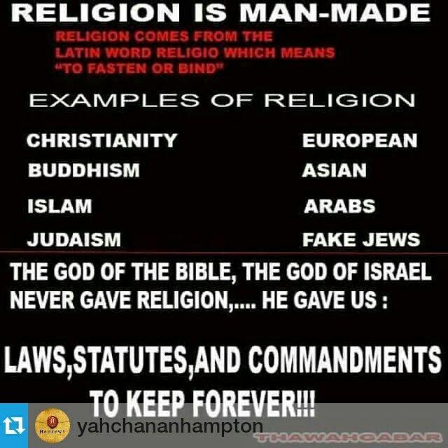 Lifestyle not religion