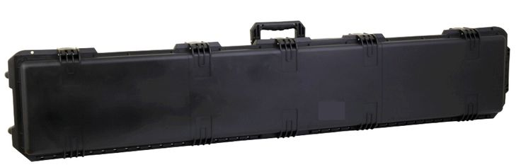 """268.00$  Buy here - http://ai6ju.worlditems.win/all/product.php?id=32508097668 - """"Heavy Duty Hunting 53"""""""" Scoped Tactical Rifle  Case with lid foam"""""""