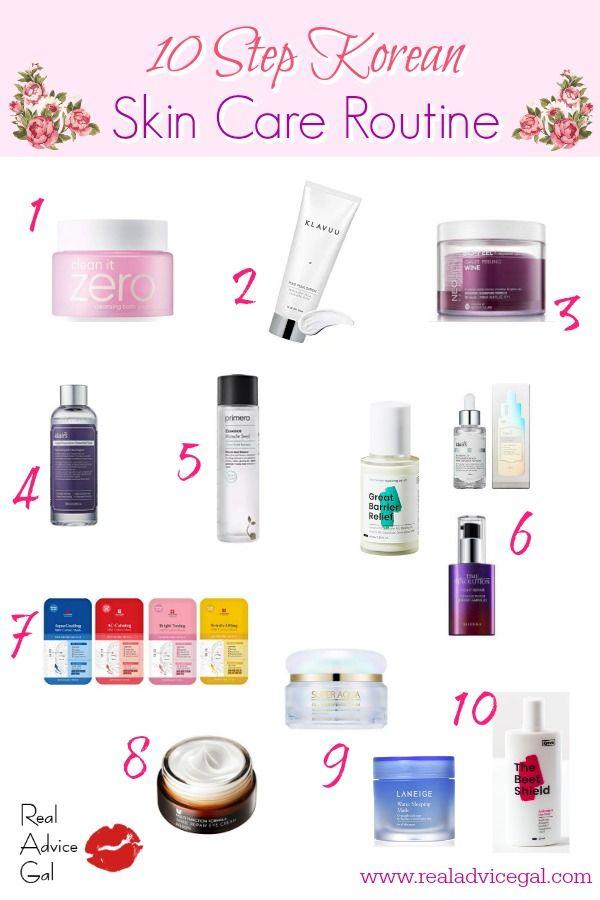 10 Step Korean Skin Care Routine Real Advice Gal In 2020 Korean Skincare Routine Korean Skincare Skin Care Routine