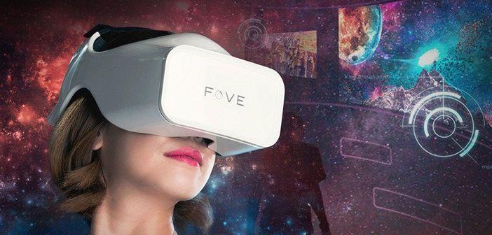 Headset Virtual Reality Terbaru dari Fove