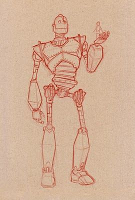 Iron Giant ✤ || CHARACTER DESIGN REFERENCES | キャラクターデザイン • Find more at https://www.facebook.com/CharacterDesignReferences if you're looking for: #lineart #art #character #design #illustration #expressions #best #animation #drawing #archive #library #reference #anatomy #traditional #sketch #development #artist #pose #settei #gestures #how #to #tutorial #comics #conceptart #modelsheet #cartoon #robots #droid #cyborg || ✤