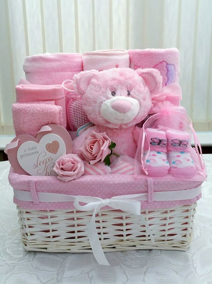 90 Beautiful DIY Baby Shower Baskets for the presentation of homemade gifts in expensive style