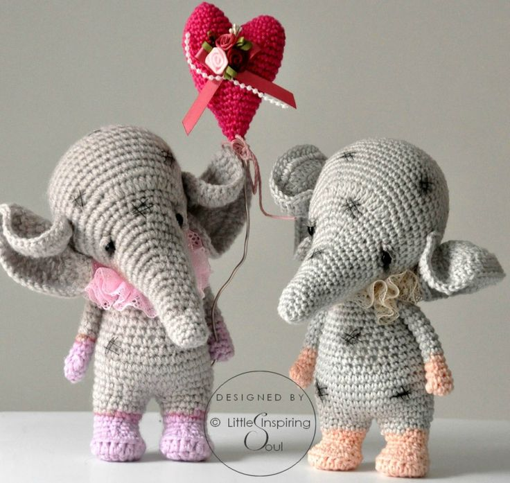 "My own sweet elephant pattern on ""etsy"""