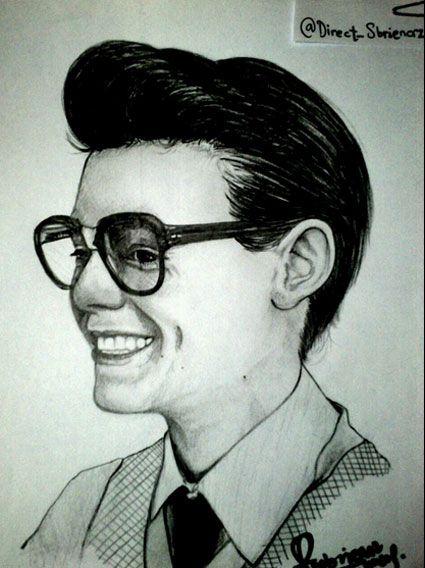 Marcel (Harry) fan art<<<ER MER GERD ITS MARCEL HOLD ME IM DYING!!!