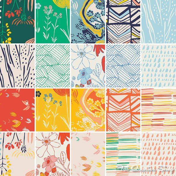 Meadow by Leah Duncan for Art Gallery Fabrics