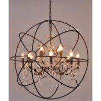 Rococo Globe 80cm Chandelier   Lighting