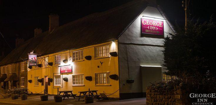 George Inn, Chideock at Night