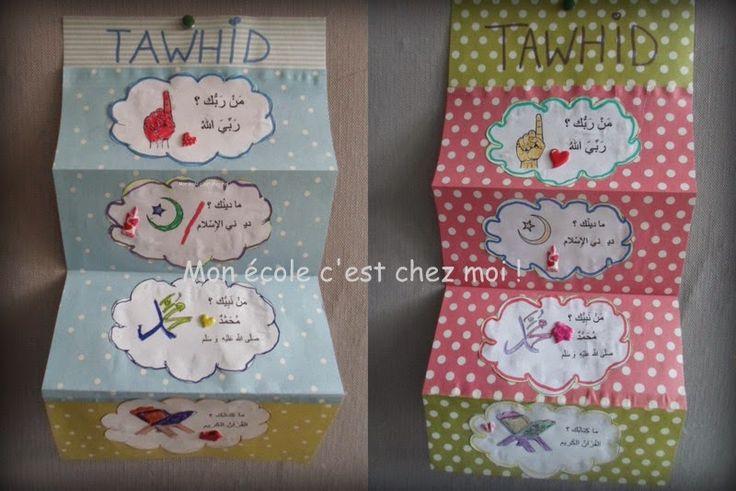 Mon école, c'est chez moi ...: Tawhid pour les petits