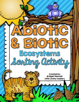 FREE abiotic and biotic activity - ecosystems