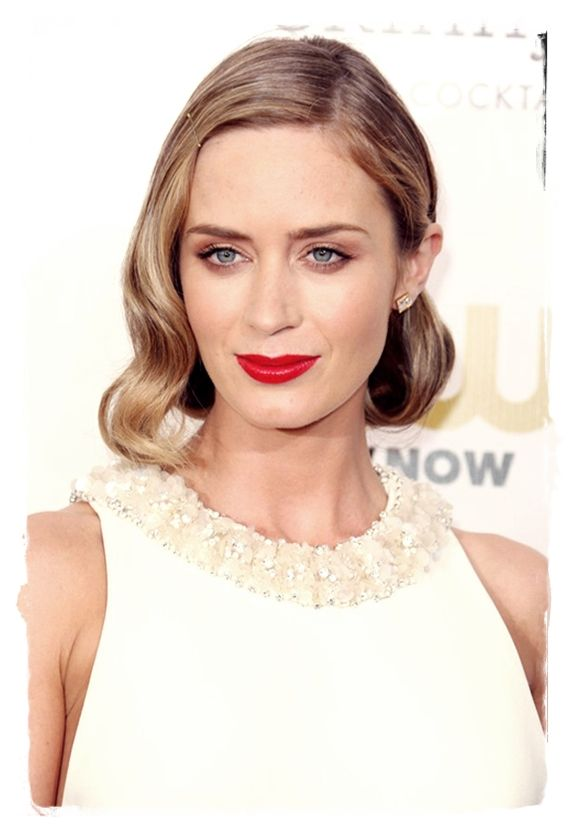 Celebrity Bob #Hairstyles to Inspire You - Emily Blunt