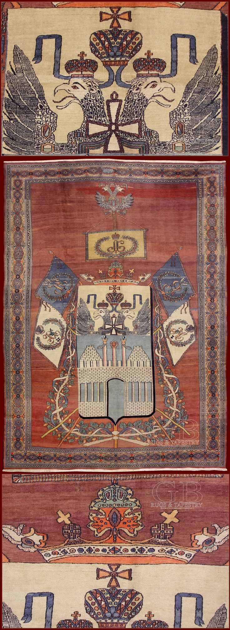 antique carpet Dorosh of zar Alessandro II°
