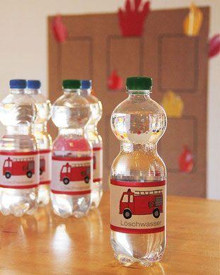 Löschwasser zum Trinken? Das gibt es nur auf einem perfekten Feuerwehr…