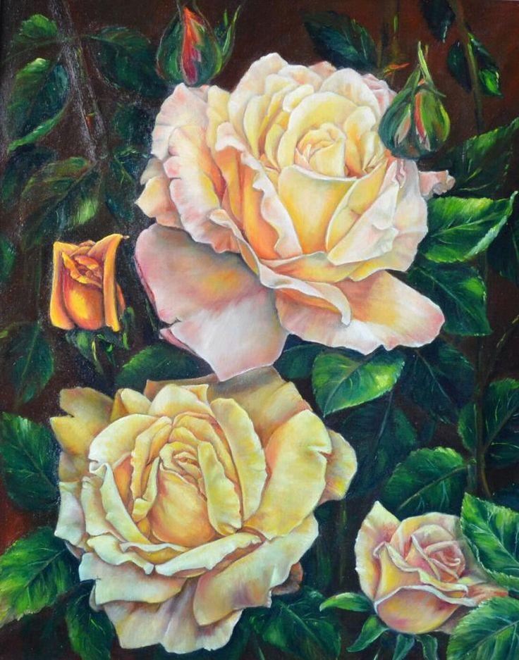Rose (olio su tela 40 x 50)