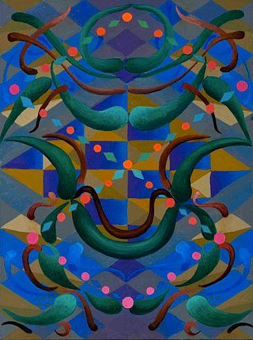Philip Hanson, Floating Cartouche, 2001