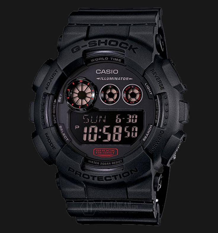 Beli jam tangan Casio G-Shock GD-120MB-1DR - Water Resistance 200M Black Resin Band - Daftar Harga jam termurah, review, spesifikasi lengkap Indonesia di Jamtangan.com