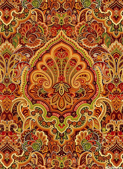 """""""Autumn Festival"""" collection by Color Principle for Henry Glass and Co."""