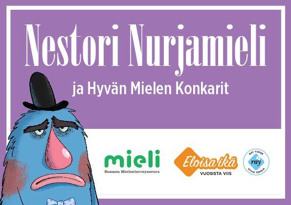 Nestori Nurjamieli ja Hyvän Mielen Konkarit -lautapeli | Suomen Mielenterveysseura