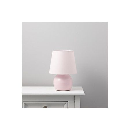 Ava Pink Table Lamp | Departments | DIY at B&Q