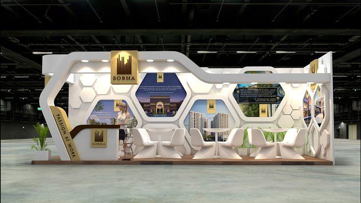 SOBHA Ltd. Exhibition Design for Indian Property Show. on Behance