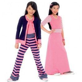 McCall Naaipatroon  6985-GIRL - Kinderen patronen - Patronen