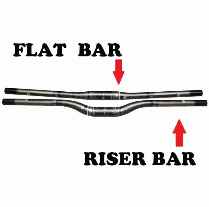 Hot Sale JIMAITEAM Carbon Fiber Mountain Bike Handlebar , Grey Logo 3K Matte Carbon Cloth Figure Bicycle Flat Bar/Riser Bar