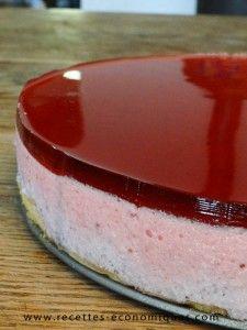 Recette du bavarois aux fraises au thermomix : excellent