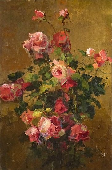 """""""Rose Grouping on a Bishoff Theme"""" by Kathryn Stats"""