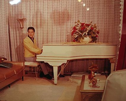elvis sighting at graceland pool house | Graceland - The Home Made Fit For a King!
