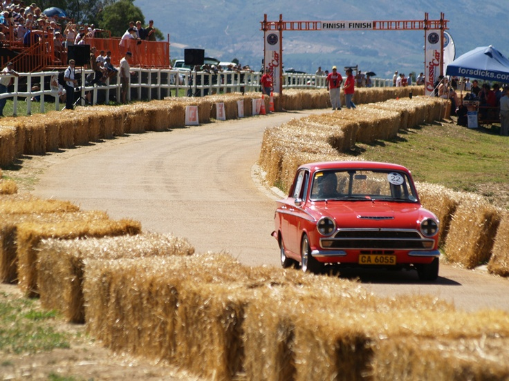 Ford Cortina at Franschhoek Time Trial, South Africa