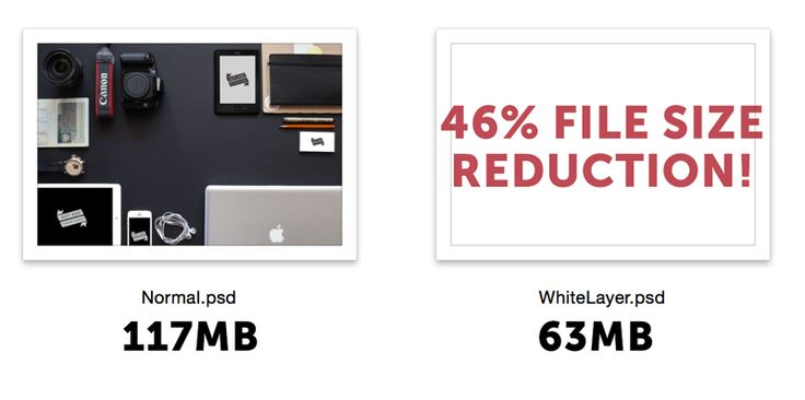 On the Creative Market Blog - The Best Tricks to Reduce Photoshop File Size