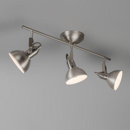 Strahler Tommy 3 stahl Eine fantastische neue Lampe in unsere Sammlung! Spot Tommy 3 ist ein solider und schön geformter Deckenstrahler in Stahl mit hervorragenden Verstellmöglichkeiten. #Lampe #Light #einrichten #Innenbeleuchtung #wohnen #Leuchte #Strahler