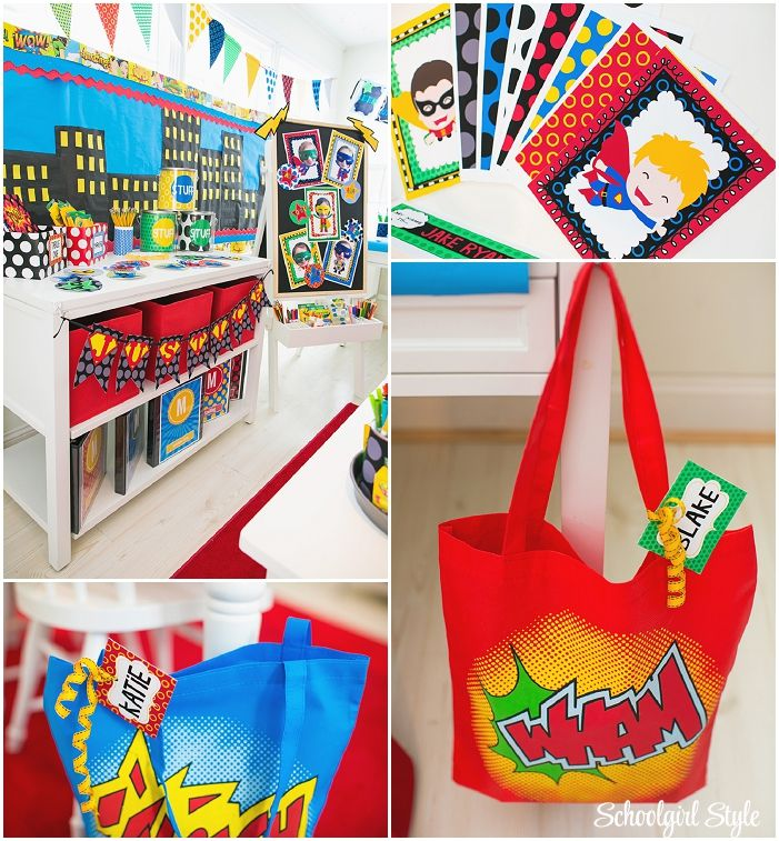 Elementary Super Hero Classroom Ideas ~ Best images about classroom superhero themed on