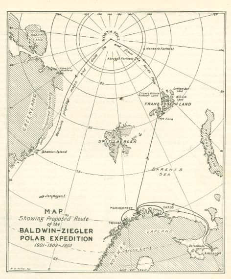 andree expedition photos -In 1897 he journeyed to Spitzbergen, hoping to join Andree's expedition, but there was no room for him in the balloon-car.