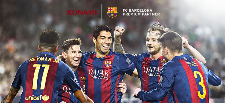 Premium Partnership signed with FC Barcelona | Pro Evolution Soccer 2017 Official Website