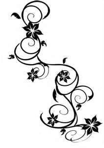 Flower and Vine Tattoo Designs