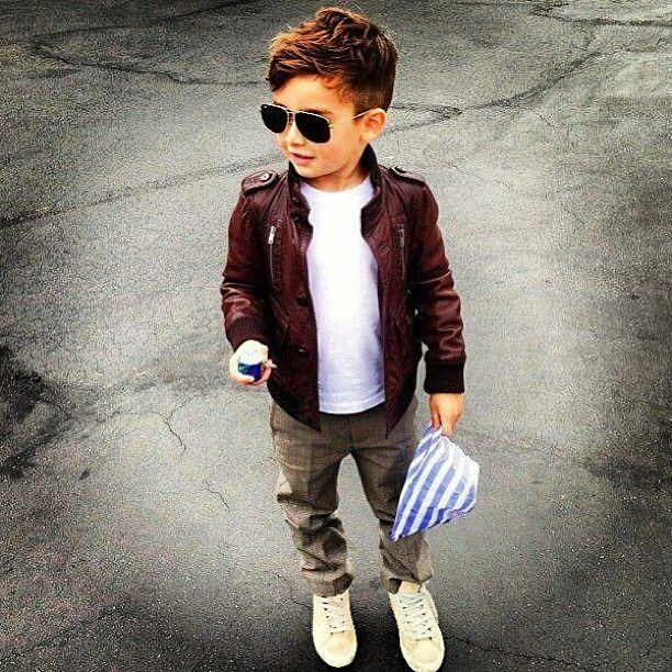 This little boy and his outfit! Too cute