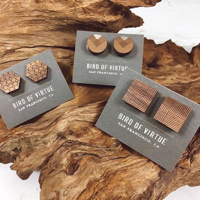 Wooden cufflinks make a very unique gift. We also have matching tie clips!⠀ •⠀ •⠀ •⠀ #shopsmall #shoplocal #longbeach #lbc #belmontshore #losangeles #la #socal #california #cali #westcoast ⠀ #mensfashion #style #mensstyle #inspo #fashioninspo #styleinspo #trend #trendalert #wedding #cufflinks #tieclips #weddingwear #groomsgift #groom #menswear