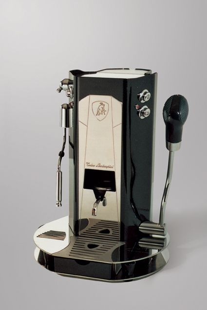 Lamborghini Coffee machine with a turbo!