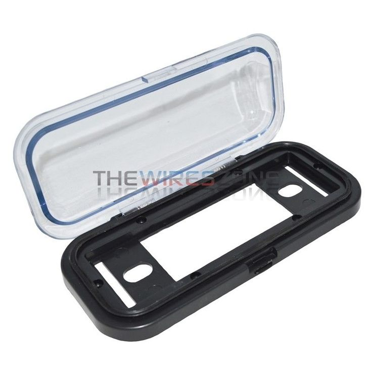 Clear Universal Water-Resistant 1-DIN Marine Boat Radio Stereo Housing Cover