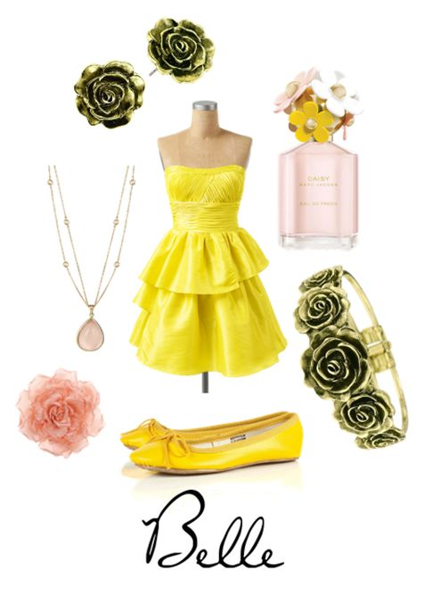 Belle from Character Inspired Style: Mis Vestidito, Beast Style, Crazy Style, Inspiration Style