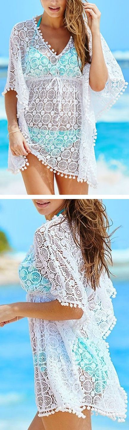 Lace Cover-Up can cover up those bits we don't like quite as much!!