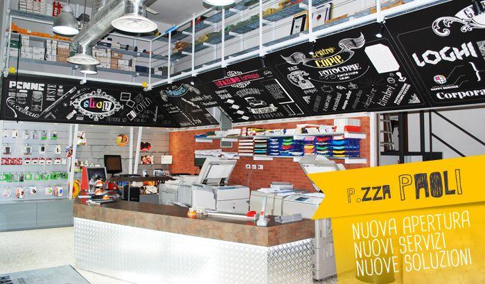 pannelli interno negozio Happy Service
