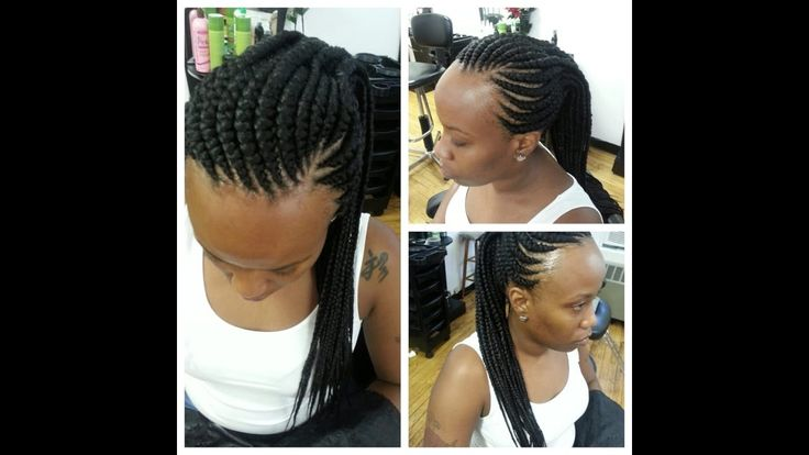 Ghana Weaving Styles For Round Face African Braids