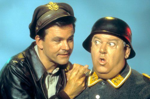 HOGAN'S HEROES (TV) BOB CRANE, JOHN BANNER - From sex addiction to murder