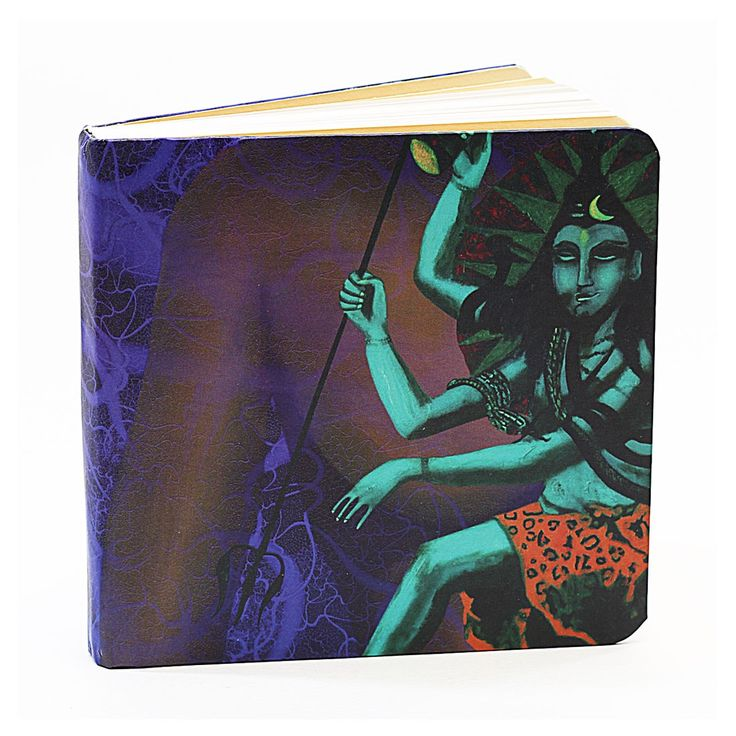 The Destroyer Shiva Lined Notebook - BFLN4X4(B) - Note Books - Notebooks & Pads - Paper Products